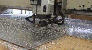 Routing aluminium